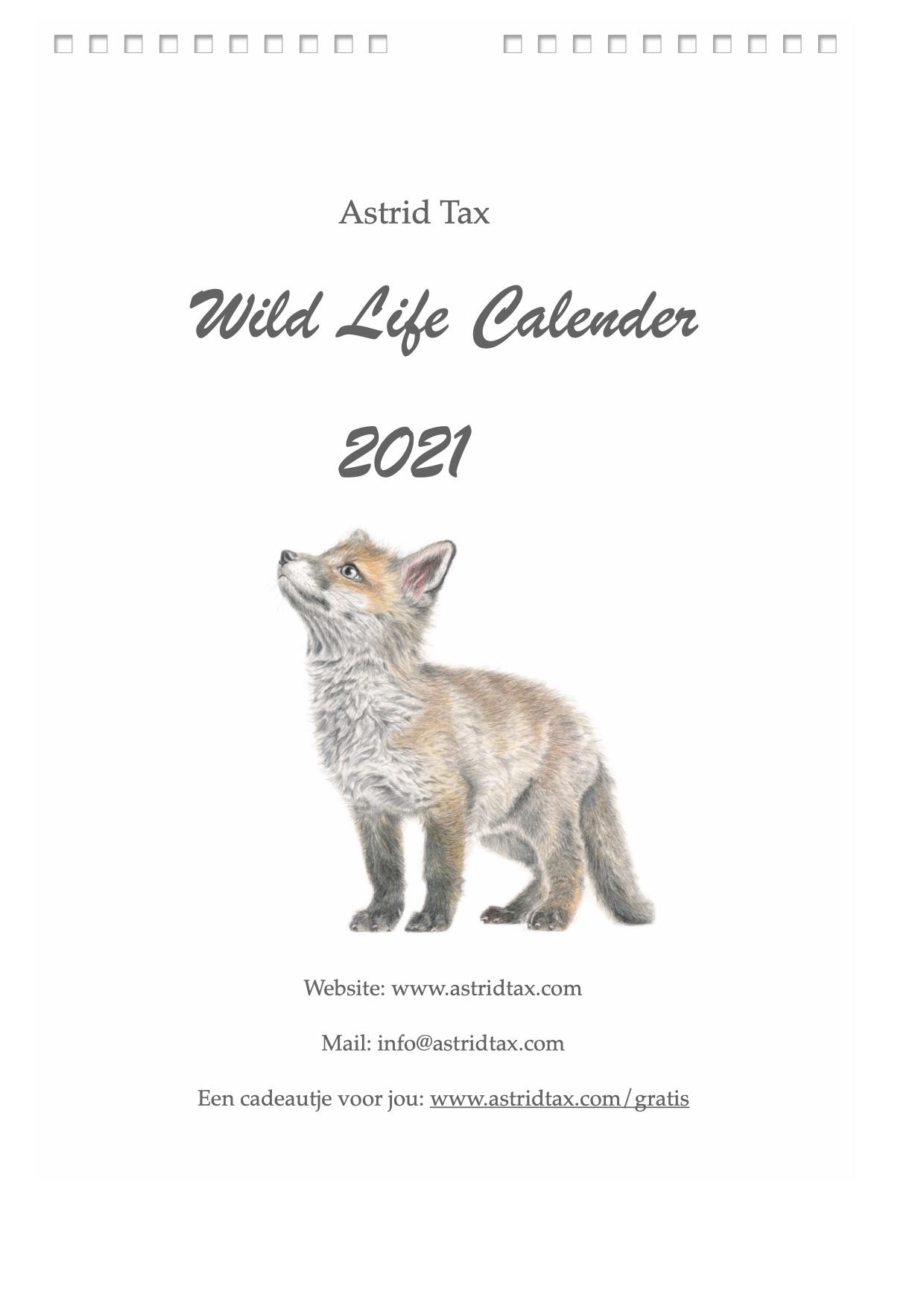Voorblad kalender 2021
